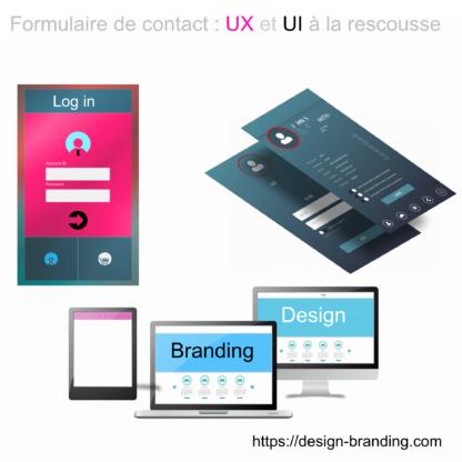formulaire de contact :UX et UI